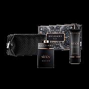 BVLGARI BVLGARI MAN IN BLACK POUCH SET 100ml Eau de Parfum + 100 ml After Shave Balm + Herren-Kulturtasche