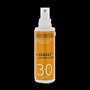 Korres Yoghurt Sonnenemulsion für Gesicht und Körper SPF 30
