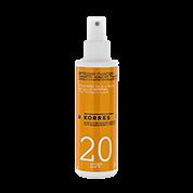 Korres Yoghurt Sonnenemulsion für Gesicht und Körper SPF 20