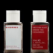 Korres Vetiver Root / Green Tea / Cedarwood Eau de Toilette für Ihn