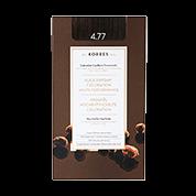 Korres Haarfarben Arganöl - Hochentwickelte Coloration 4.77 - Dark Chocolate / Schokobraun Intensiv