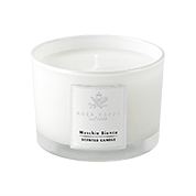 Acca Kappa Casa Collection Scented Candle in a High Quality Glass Muschio Bianco