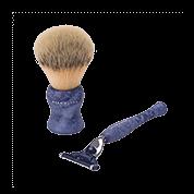 Acca Kappa Barber Shop Collection Shaving Set Brush & Razor
