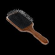 Acca Kappa Hairbrushes Collection Mahogany Kotibe Wood Pneumatic Paddle Brush Pins 960