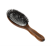 Acca Kappa Hairbrushes Collection Mahogany Kotibe Wood Pneumatic Oval Brush