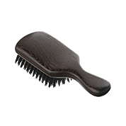 Acca Kappa 1869 Wenge Wood Club Style Hairbrush Natural Bristles Wenge