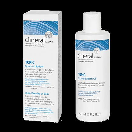 Clineral Topic Dusch- & Badeöl