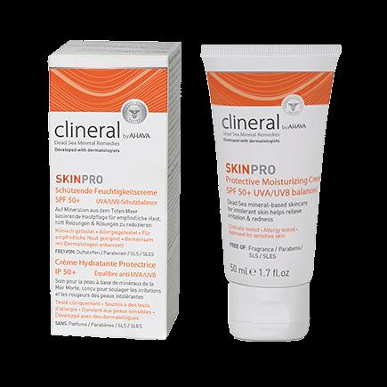 Clineral SkinPro Schützende Feuchtigkeitscreme SPF 50+
