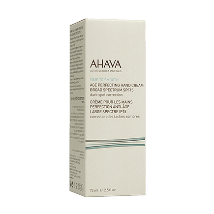 Ahava Time To Smooth Age Perfecting Hand Cream SPF 15