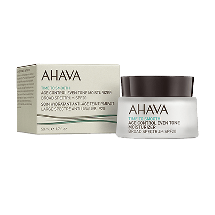 Ahava Time To Smooth Age Control Even Tone Moisturizer Broad Spectrum SPF 20