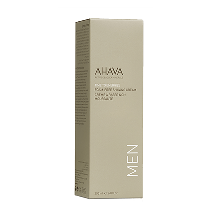 Ahava Time To Energize Foam Free Shaving Cream