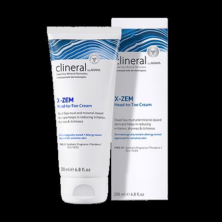 Clineral X-Zem Head-to-Toe Cream