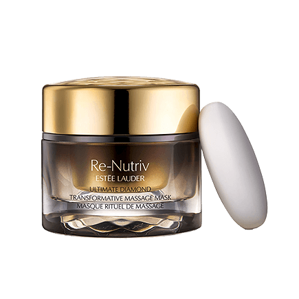 Estee Lauder Re-Nutriv Ultimate Diamond Transformative Ritual Massage Mask and Thermal Stone