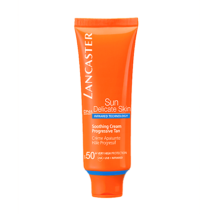 Lancaster Sun Delicate Skin Soothing Cream Progressive Tan SPF 50
