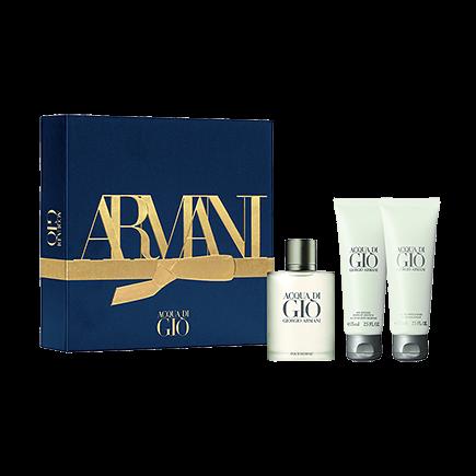 Giorgio Armani Coffret Acqua di Giò Xmas20 50 ml EdT + 75 ml Duschgel + 75 ml After Shave Balm