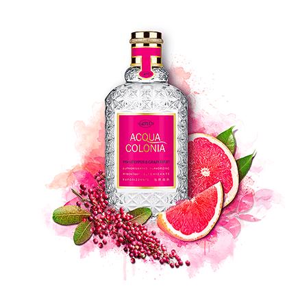 Acqua Colonia 4711 Pink Pepper & Grapefruit Shower Gel