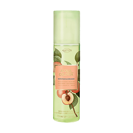 4711 Aqua Colonia White Peach & Coriander Body Spray