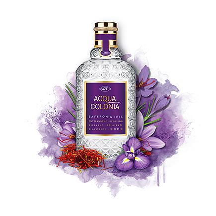 Acqua Colonia 4711 Saffron & Iris Eau de Cologne Spray
