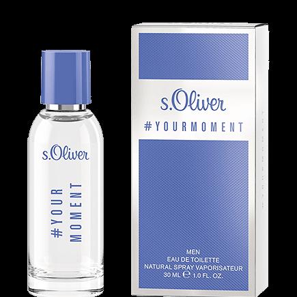 s.Oliver #Your Moment Men Eau de Toilette Spray