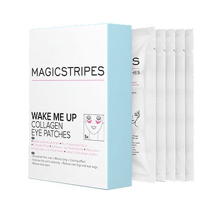 Magicstripes Wake Me Up Collagen Mask Box (5 Masken)