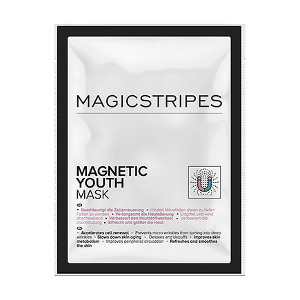 Magicstripes Magnetic Youth Mask Sachet (1 Maske)