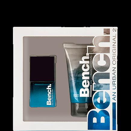 Bench. An Urban Original 2 Men Set Eau de Toilette Spray + Shower Gel