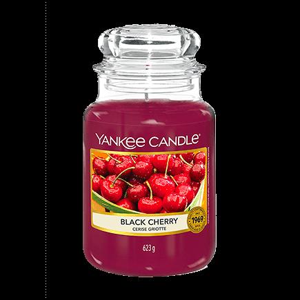 Yankee Candle Classic Black Cherry Duftkerze