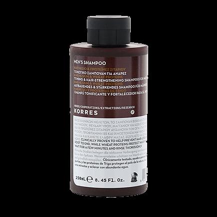 Korres Men Magnesium & Wheat proteins Shampoo
