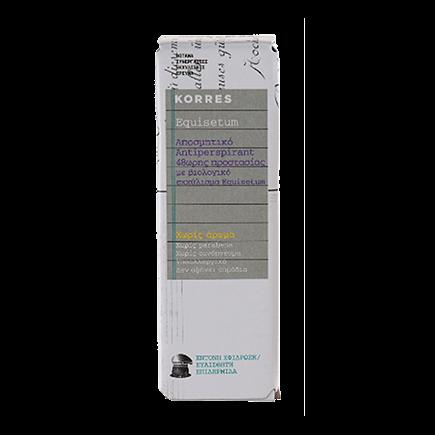 Korres Equisetum 48h Antiperspirant Deodorant - parfümfrei