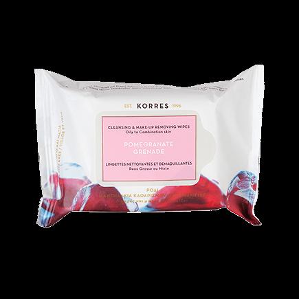 Korres Pomegranate Reinigungstücher