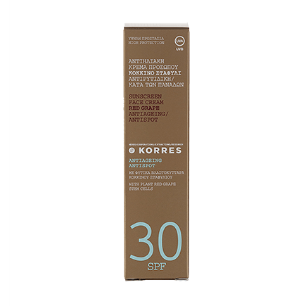 Korres Red Grape Anti-Dark-Spot Sonnencreme für das Gesicht SPF 30