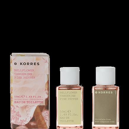 Korres Bellflower / Tangerine / Pink Pepper Eau de Toilette für Sie