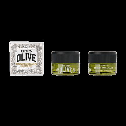 Korres Pure Greek Olive Olive Feuchtigkeitsspendende Nachtcreme