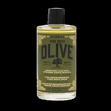 Korres Pure Greek Olive Olive Nährendes 3In1 Öl