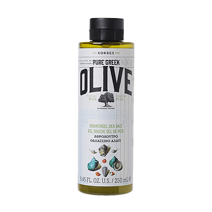 Korres Pure Greek Olive Olive & Sea Salt Duschgel