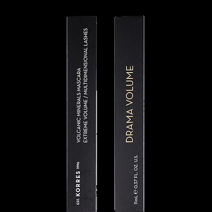 Korres Black Volcanic Minerals Drama Volume Mascara - 02 Plum Brown