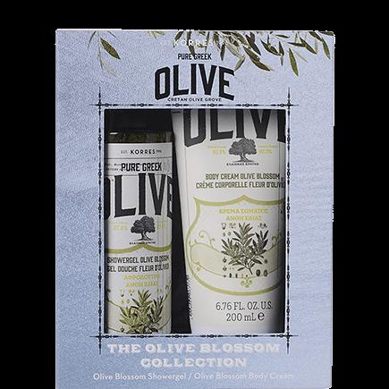 Korres Olive Blossom Collection Shower Gel + Bodymilk