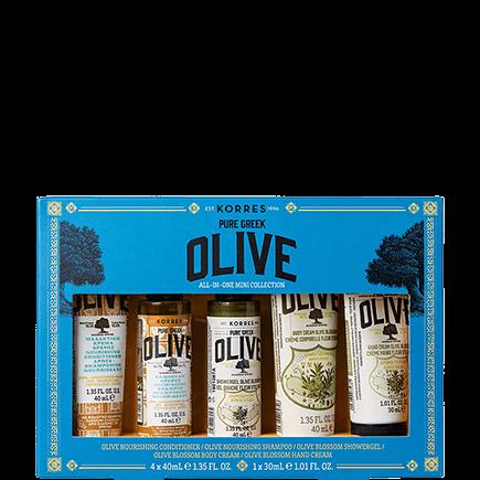 Korres Pure Greek Olive All-In-One Mini Collection - Reisegrößen-Set