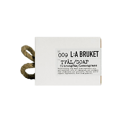 L:A Bruket 009 Rope Soap Lemongrass