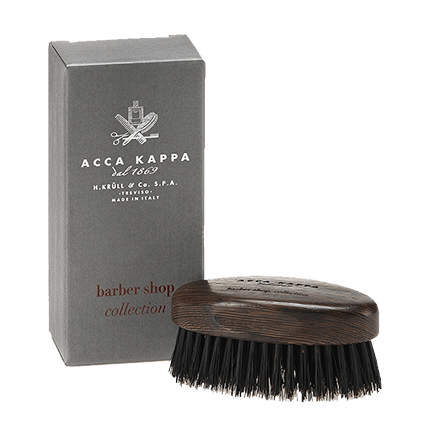 Acca Kappa Barber Shop Collection Beard Brush Wenge Wood
