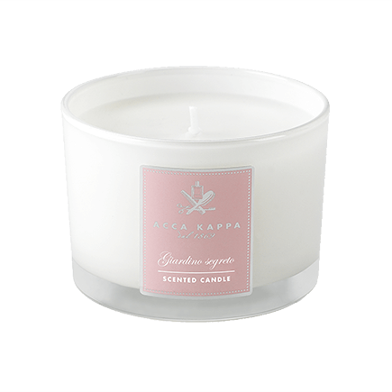 Acca Kappa Casa Collection Scented Candle in a High Quality Glass Giordano Segreto