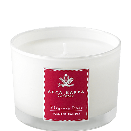 Acca Kappa Virginia Rose SCENTED CANDLE IN A GLASS