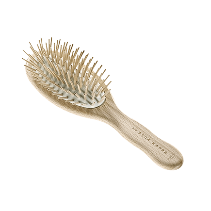 Acca Kappa Hairbrushes Collection PNEUMATIC BRUSH WITH WOODEN PINS