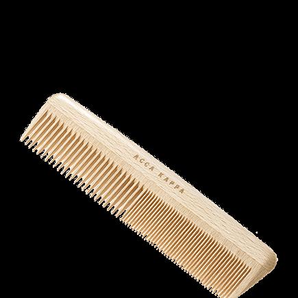 Acca Kappa Natural Beechwood Combs Wooden Comb