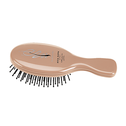 Acca Kappa Hairbrushes Collection Nude Look Mini Brush