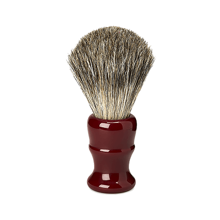 Acca Kappa Barber Shop Collection Shaving Brush Red