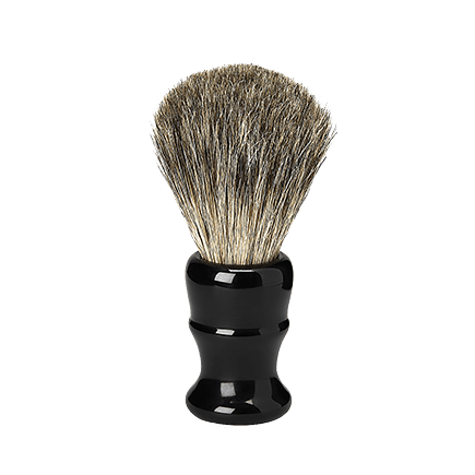 Acca Kappa Barber Shop Collection Shaving Brush Black
