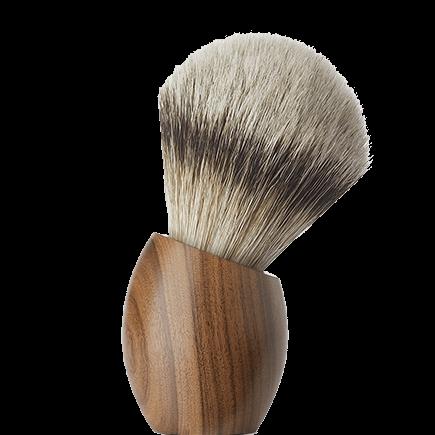 ERCOLE Rosewood Shaving brush (large size)