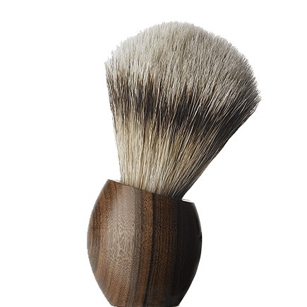 ERCOLE Rosewood Shaving brush (small size)