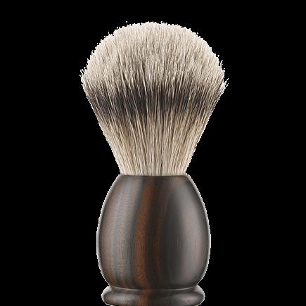 APOLLO Ebony Shaving brush (large size)